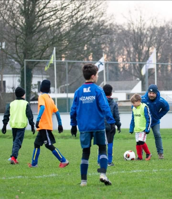 We kunnen weer trainen en voetballen